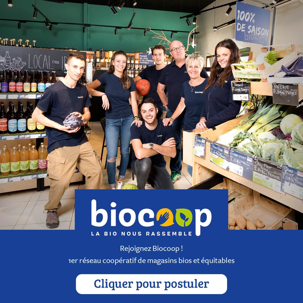 Biocoop - Créer mon magasin