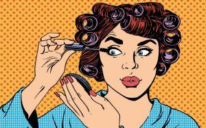La fin du maquillage et des bigoudis à la maison ?